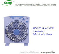 national hot sale electric cheap box fan from china
