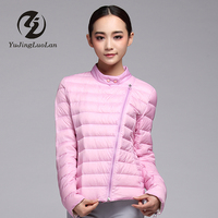 Breathable Goose Down short Coat for Lady