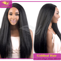 100% Hman Hair Unprocessed Virgin Brazilian Hair Full Lace Wig With Baby Hair