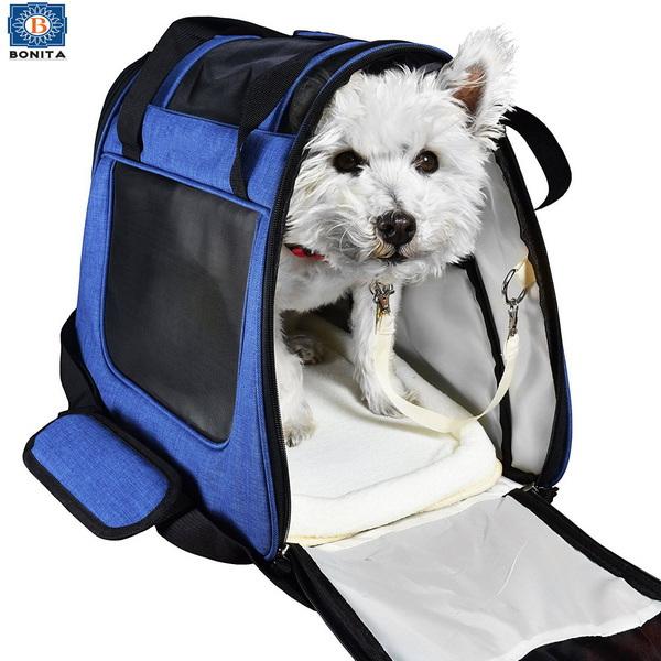 Soft pet carrier Small Pet Dog Cat Carrier Airline Approved soft pet carrier crate