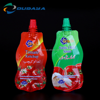 18ml Plastic Spout Cap for Ketchup Packaging Stand Up Pouch