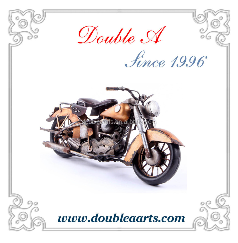 Handmade metal motorcycle model antique motorcycle model home accessories model crafts manufacturer