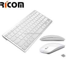 tablet pc wireless keyboard mouse, wireless keyboard and mouse combo ,keyboard with built in mouse pad--Shenzhen Ricom