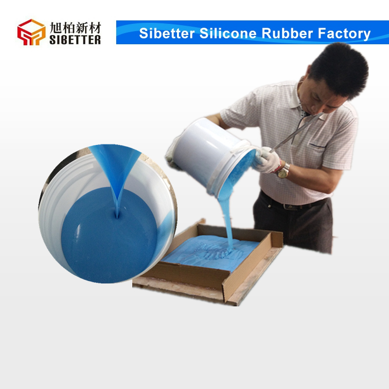 Easy Process Pouring Mold Silicone, RTV 2 Liquid Silicone Rubber