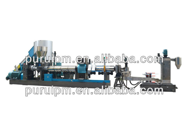 High printing film pelletizing