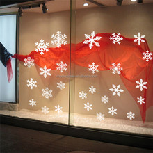 Window Stickers Winter Snowflake Wall Stickers New Year Christmas Window Wall Decals Xmas Christmas Decoration
