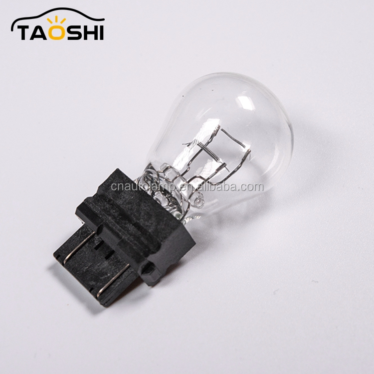 The most popular auto lamp 3157 S25 T20 plastic stop lighting bulbs