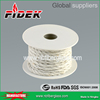 White Ceramic Fiber Twisted Rope