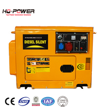 7 kva 220v generator diesel silent small home use