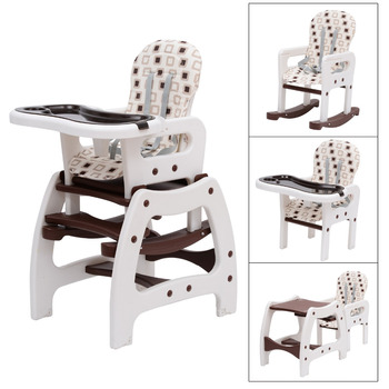 3-in-1 Multifunctional Baby Toddler Feeding Highchair