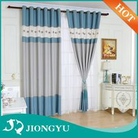 2016 Hot selling New design European Style Embroidery curtain blinds
