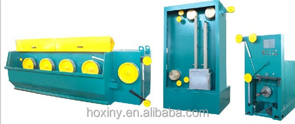 fine wire drawing machine for making scourer wire