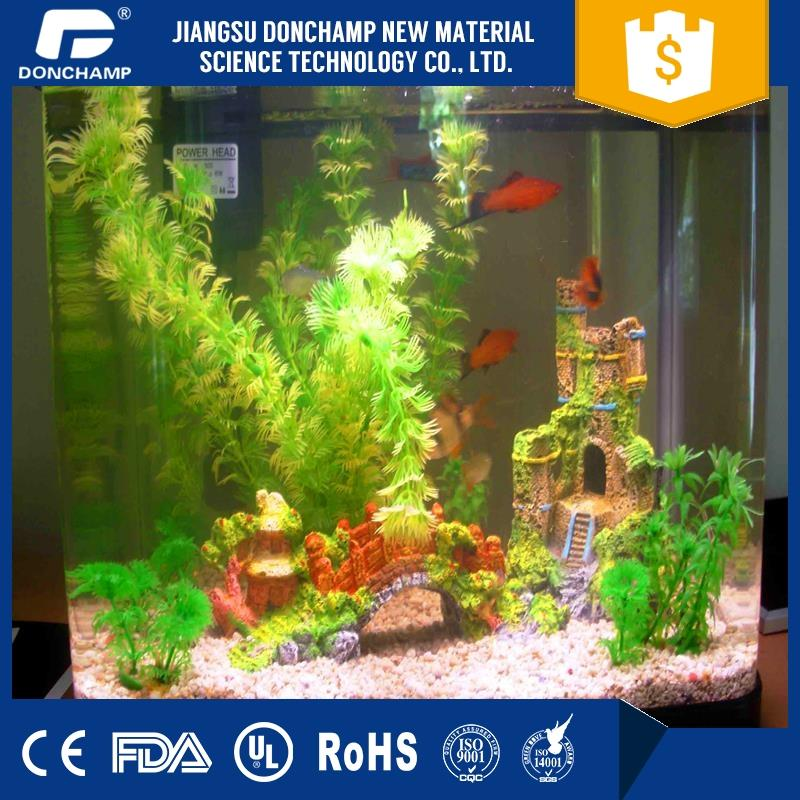 Professional pet tunnel freshwater aquarium plants custom aquarium decor with great price