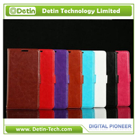 Slim Wallet Leather Cell Phone Case for Aquos SH-M01