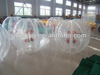 Big discount Inflatable bumper ball for kids and adults / body zorb