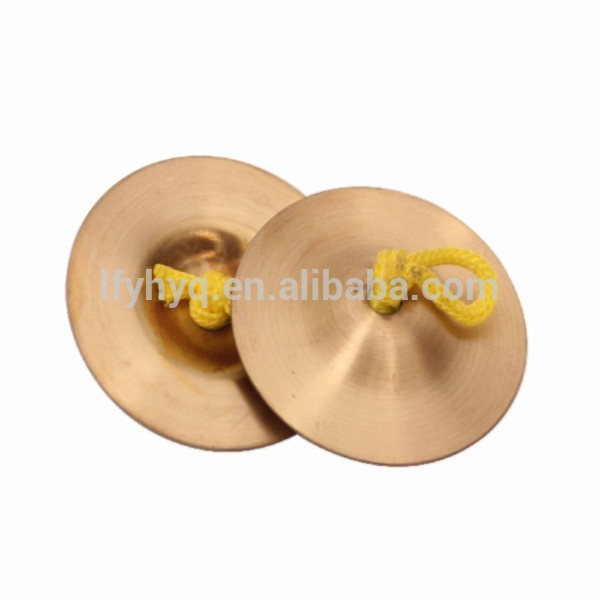 Musical instrument percussion small cymbals for sale