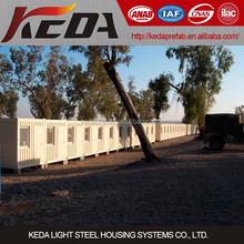 China Prefabricated Flat Pack Container House