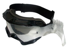 Profession prescription motorcycle goggles with anti-fog uv free lens