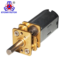 ET-SGM12-A 12mm N20 PM Brush Mini Spur DC Gear Motor with Gear box Motor for robot
