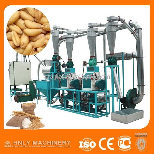 high quality wheat flour mill/wheat flour making machine with low price