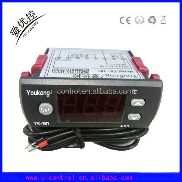 digital AC220V +/-10% temperature controller YK-181