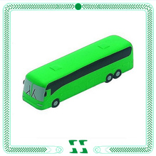 new bus design pu stess toys for promotion
