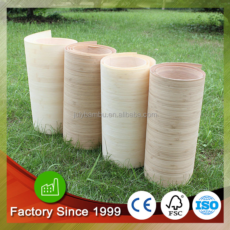 Best Price Carbonized Vertical bamboo veneer sheets 0.2mm