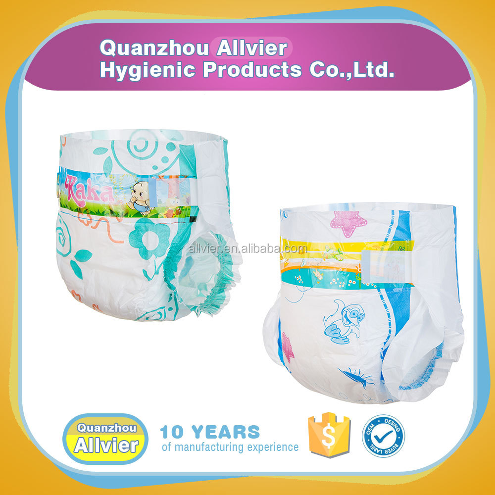 Manufacturer supply cotton breathable sleepy baby diaper