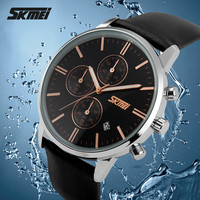 2015 new watch china factory price japan movement geneva leather strap watch