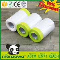 China Alibaba polythene plastic masking film