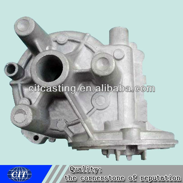 aluminum sand casting pump body ODM part for water pump used motorcycles for sale