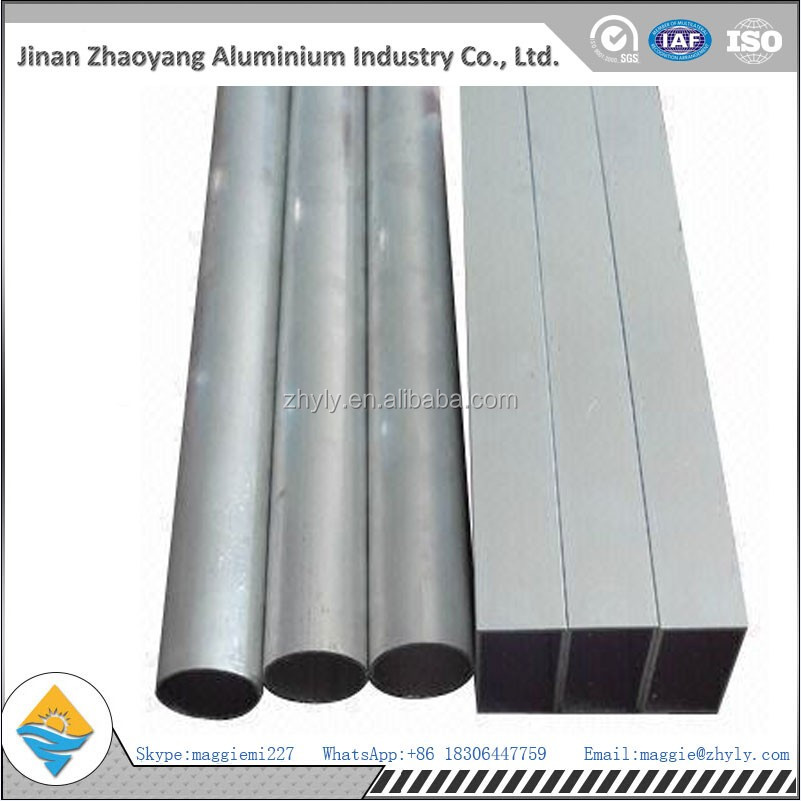 Chinese manufacturer supply high quality square aluminum tube for building