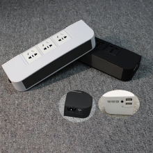 Multifunctional Loudspeaker Box Usb Charger Protector Power Socket With Plate