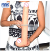 FAAK 15.6in Super long huge dildo sex toy skin color realistic penis artificial big dick giant adult sex products for gay men