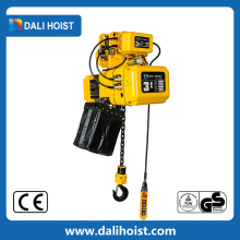 PDH single speed 3 ton electric chain hoist crane used