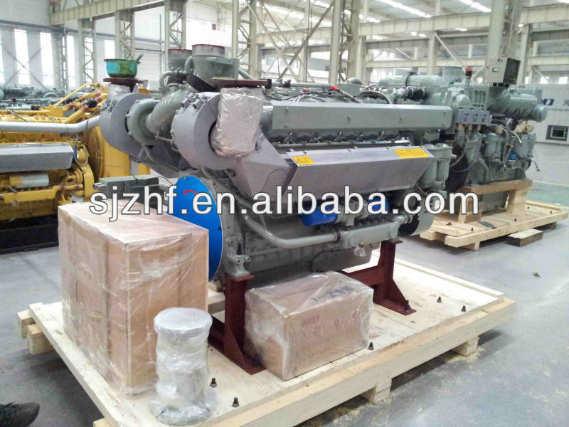 300hp TBD234 Series Deutz Diesel Engine for Marine Power Station/Pump 300hp marine diesel engine Set