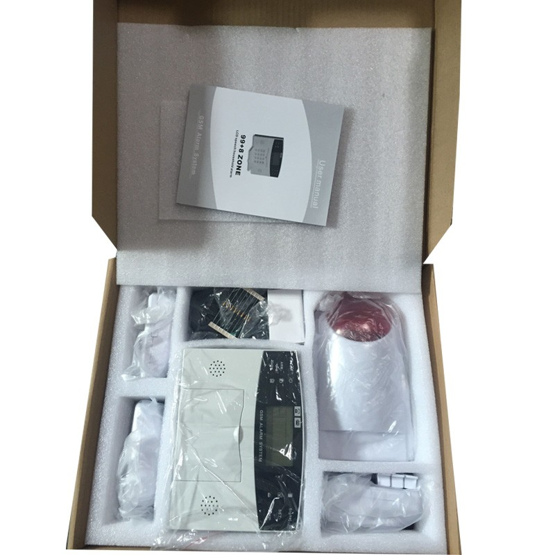 433 Mhz Low Price GSM Alarm system, Smart Home Family Wireless Security Alarm System Kit