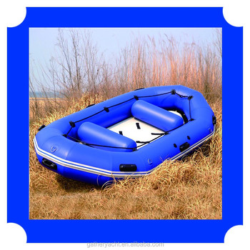 4people Inflatable river boat