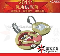 3D Cute Printing Animal Pvc Luggage Tags Product