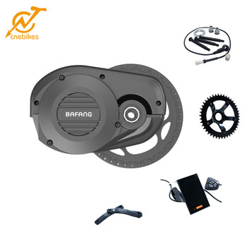 bafang 48v 1000w G510 middle drive conversion motor kit, electric bike bicycle e-bike kit with new color display