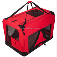 DOG PET CRATE FABRIC SOFT CARRIER KENNEL TRAVEL FOLDING CAGE & FREE BAG