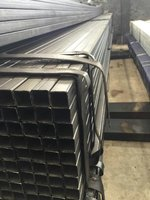 Hot dipped galvanized square pipe / rectangular hollow section steel tube manufacturer