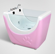 Factory Cheap Price dog Bathtub milk bath massage spa bathtub for <strong>pet</strong>