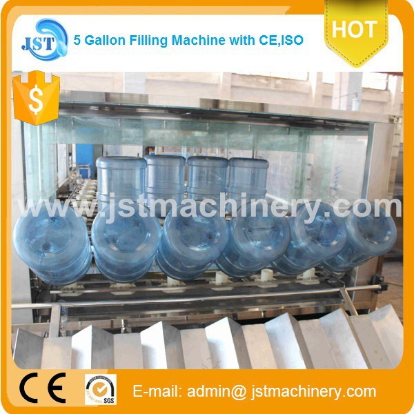 Automatic still water 5 gallan filling system