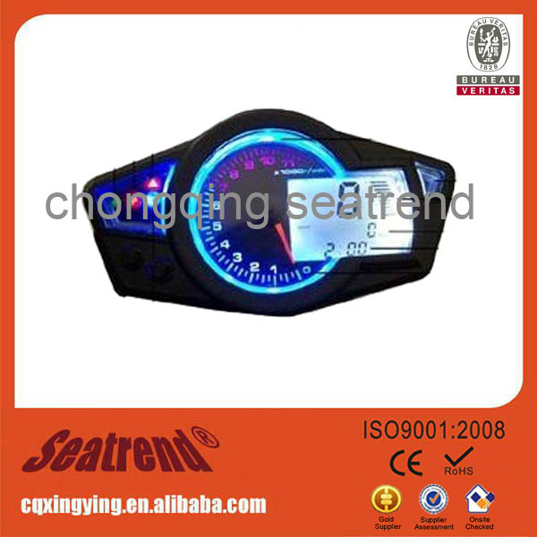 high resolution ratio LCD universal digital meter for motorcycle