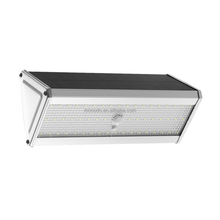 New Design Outdoor IP65 Aluminum Alloy Motion Sensor 52 LED Solar Wall Light for Garden
