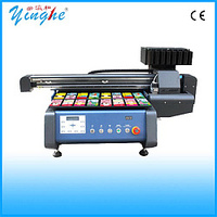 Economical high speed uv high definition wood flatbed printer