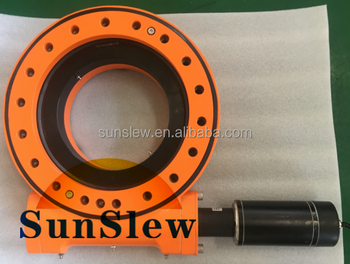 slew drive slew bearing gear motor for PV CPV CSP tracking