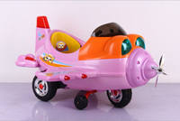A small plane model children tricycle_Children electric car with remote control
