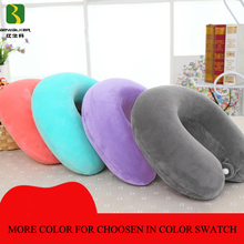 Super Soft Support Custom Memory Foam U Shape Travel Neck Pillow